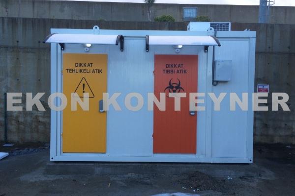 tıbbi atık konteyner