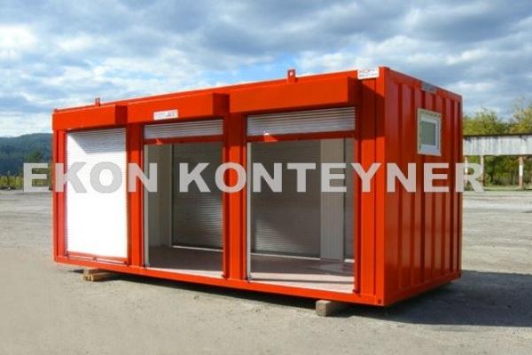 atık yağ depolama konteyner