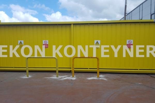 tehlikeli atık konteyner